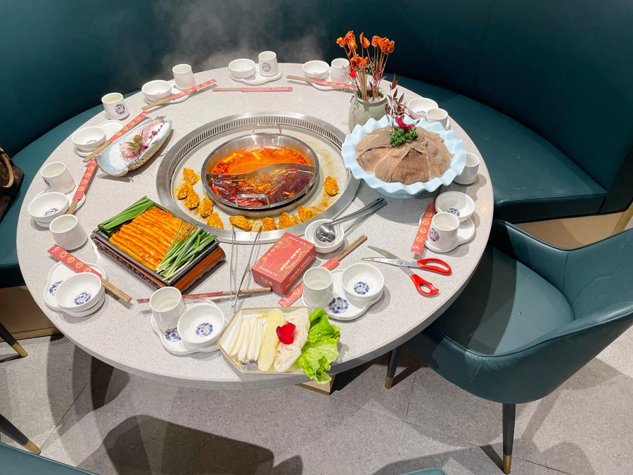 火锅烧烤一体桌